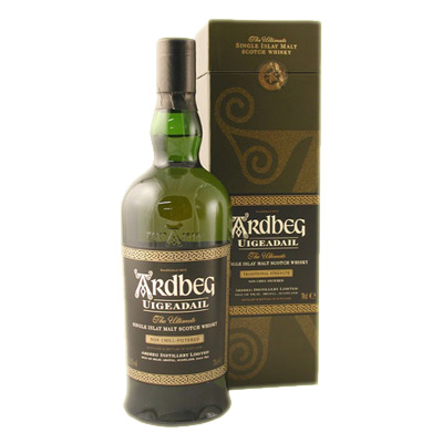 Ardbeg Uigeadail Single Malt Scotch Whisky - 70cl 54.2%