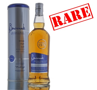 Benromach 1976 Vintage Single Malt Scotch Whisky - 70cl 46%