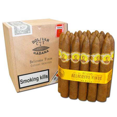 Bolivar Belicosos Finos Cigar - Cabinet of 25