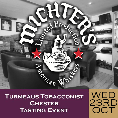 Turmeaus Chester Whisky & Cigar Tasting Event - 23/10/19