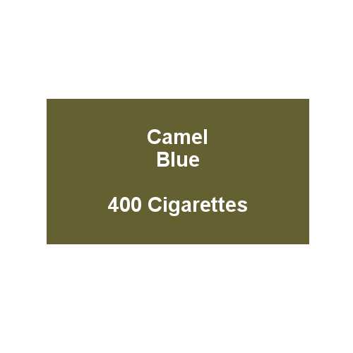 Camel Blue - 20 packs of 20 cigarettes (400)