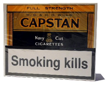 Capstan Full Strength - 1 pack of 20 cigarettes