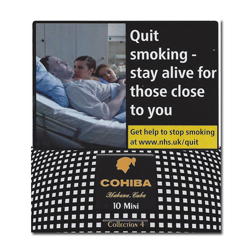 Cohiba Mini – Collection No. 4 – Tin of 10