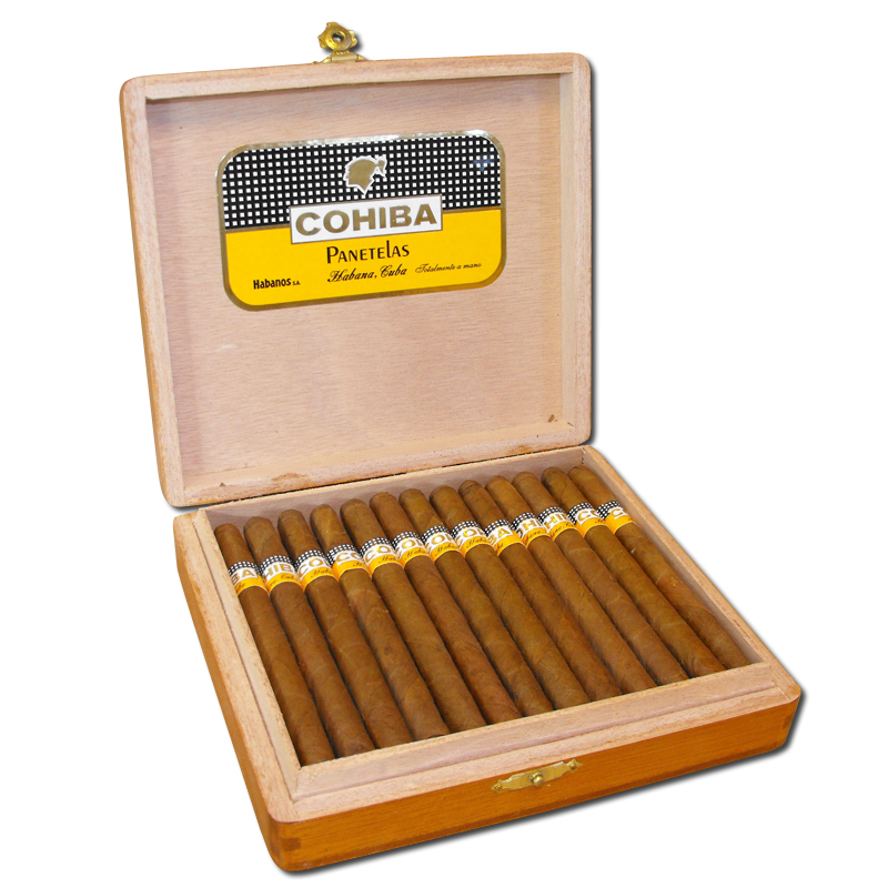 Cohiba Panetelas Cigar (Panatelas) - Box of 25