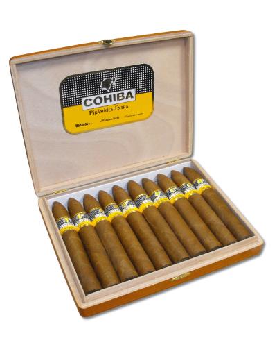 Cohiba Piramides Extra - New - 2012 - 10s