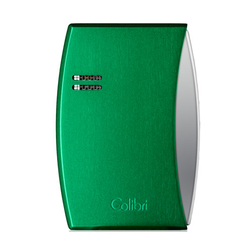JANUARY SALE - Colibri Eclipse – Single Jet Lighter - Anodized Venus Green (End of Line)