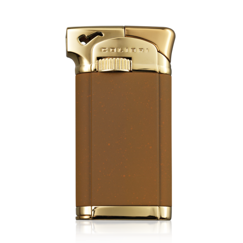 Colibri Connaught II (Pipe Lighter) - Brown/Gold