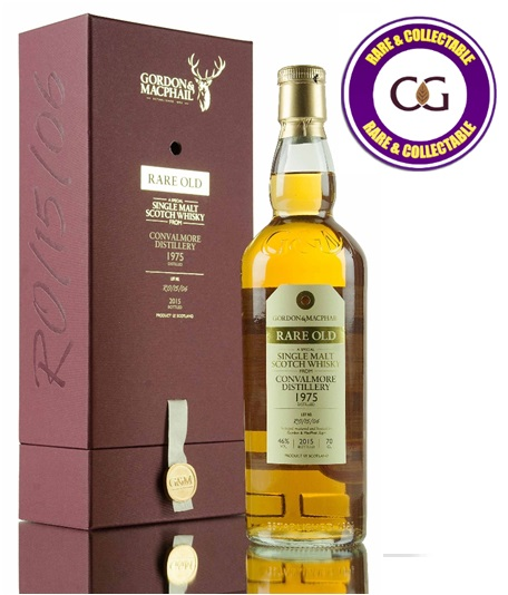 Convalmore 1975 Rare Old Bottled 2015 Single Malt Scotch Whisky - 70cl 46%