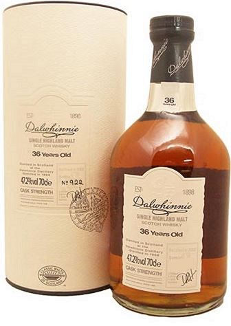 Dalwhinnie 36 Year Old Malt Scotch Whisky - 70cl 47.2%