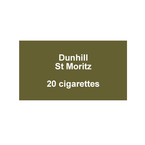 Dunhill St Moritz Menthol - 1 Pack of 20 cigarettes (20)