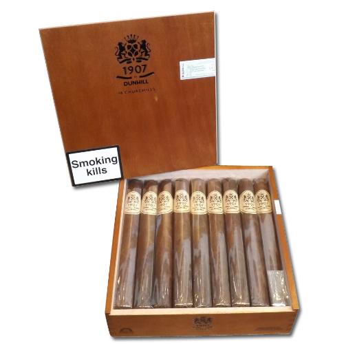 Dunhill 1907 Churchill Cigar Box Of 18