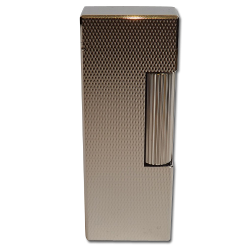 Dunhill Rollagas Lighter – Barley Palladium Plated