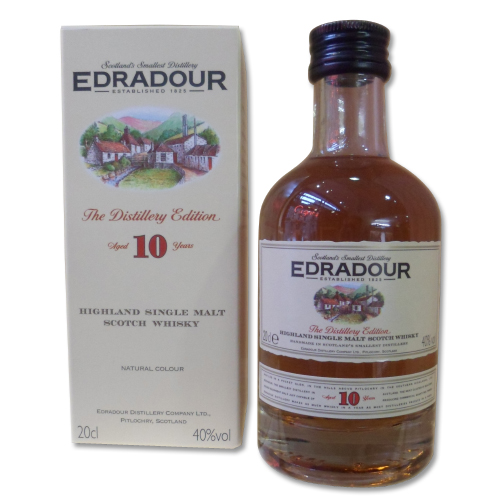 Edradour 10 Year Old - 20cl 40%