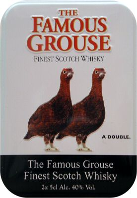 Famous Grouse Twin Gift Tin - 2 x 5cl 40%