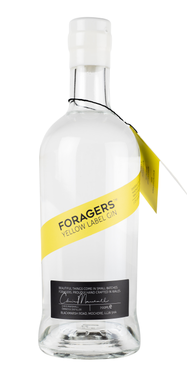 Foragers Yellow Label Gin - 46% 70cl