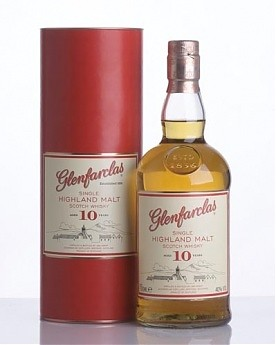 Glenfarclas 10 Year Old Single Malt Scotch Whisky - 70cl 40%