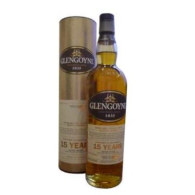 Glengoyne 15 Year Old Single Malt Scotch Whisky - 70cl 43%
