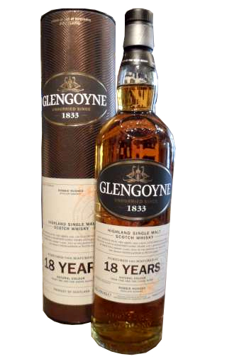 Glengoyne 18 Year Old Single Malt Scotch Whisky - 70cl 43%