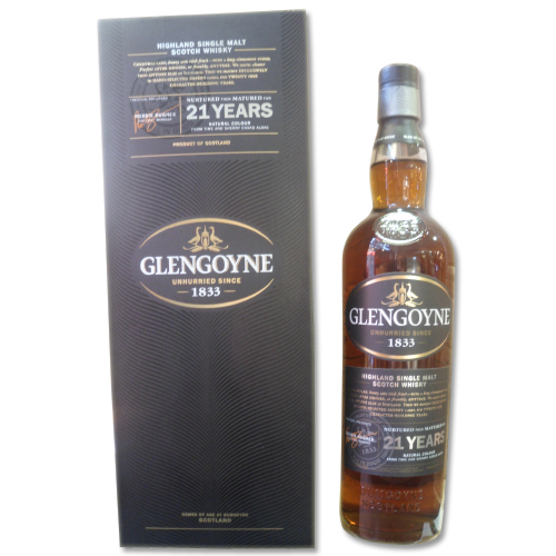 Glengoyne 21 Year Old Single Malt Scotch Whisky - 70cl 43%