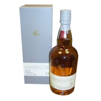 Glenkinchie 12 Year Old Malt Scotch Whisky - 70cl 43%