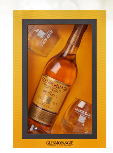 Glenmorangie Original Gift Pack, 1 x 70cl Bottle With 2 Glasses