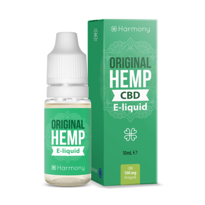 Harmony CBD E-Liquid 300mg Original Hemp - 10ml