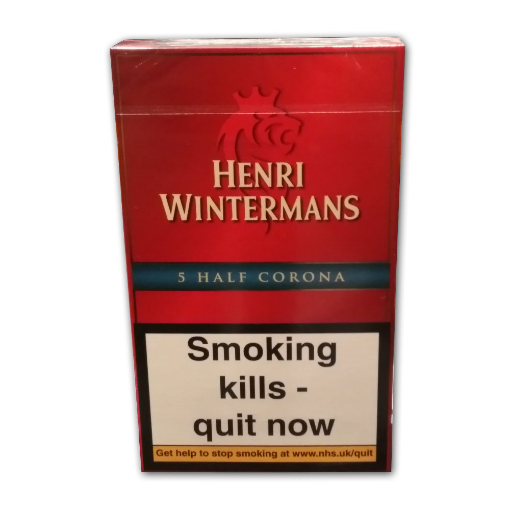 Henri Wintermans Half Corona Pack Of 5 Dunhill Mild 20 Cigars