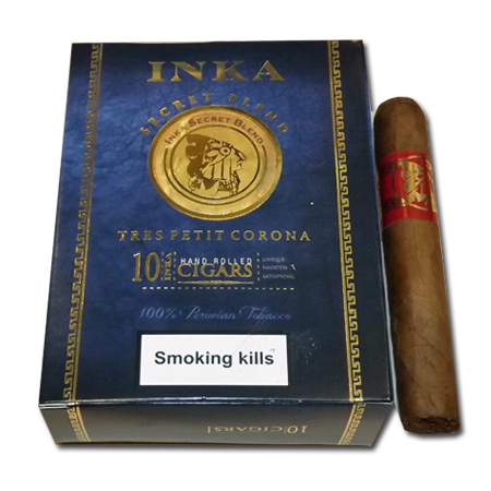 Inka Secret Blend - Red Tres Petit Corona - Pack of 10