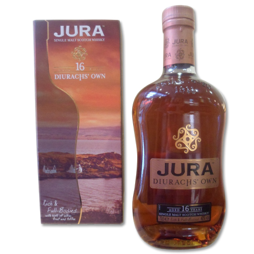 Isle of Jura 16 Year Duriachs Own Whisky - 70cl 40% - Cosmetic Defects to Bottle