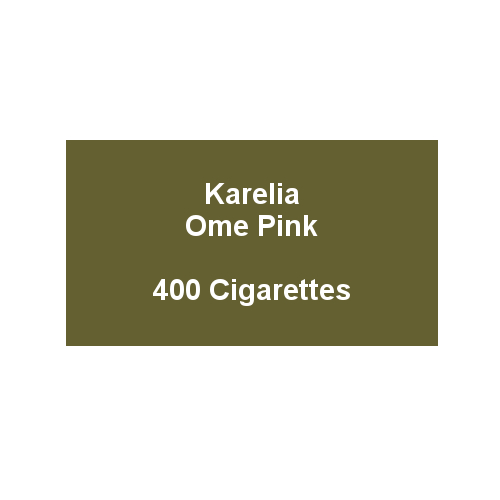 Karelia Ome Superslims Pink - 20 packs of 20 cigarettes (400)