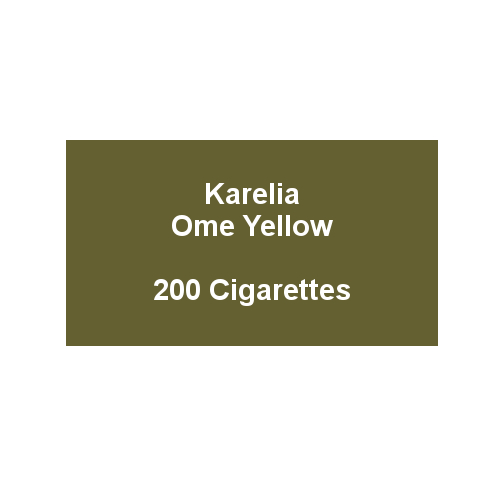 Karelia Ome Superslims Yellow  - 10 packs of 20 cigarettes (200)