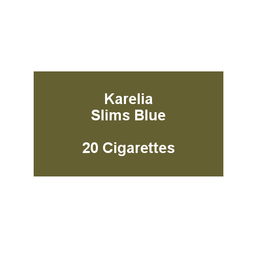 Karelia Slims Blue - 1 Pack of 20 cigarettes (20)