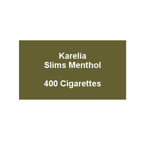 Karelia Slims Menthol - 20 Packs of 20 cigarettes (400)