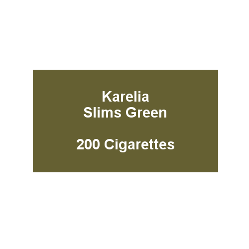 Karelia Slims Green - 10 Packs of 20 cigarettes (200)