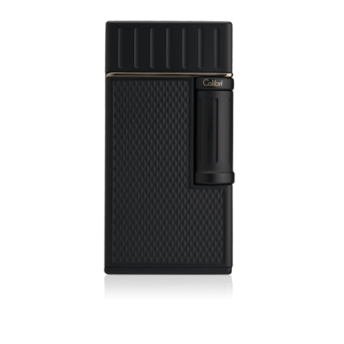 Colibri Julius Classic Double-flame Cigar Lighter - Black