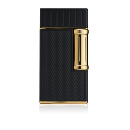 Colibri Julius Classic Double-flame Cigar Lighter - Black & Gold