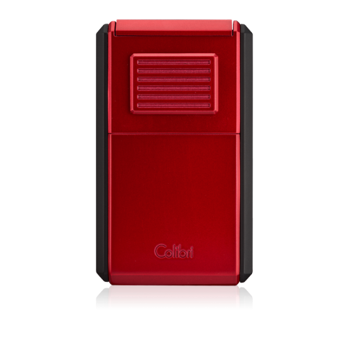 Colibri Astoria Triple Jet Flame Lighter - Red and Black