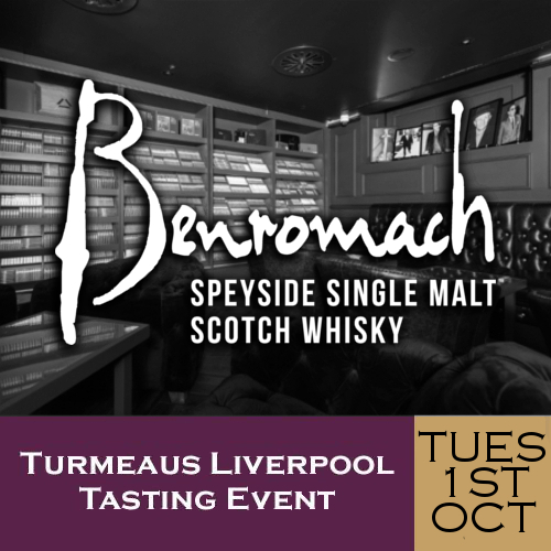 Turmeaus Liverpool Cigar and Whisky Tasting Event 01/10/19