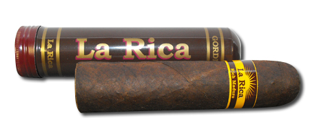 La Rica Gordito Maduro Tubed Cigar - 1 Single