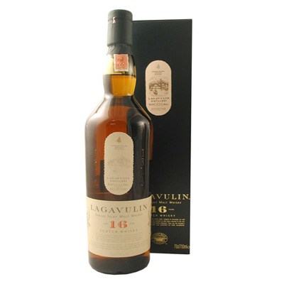 Lagavulin 16 Year Old Single Malt Whisky - 70cl, 43%