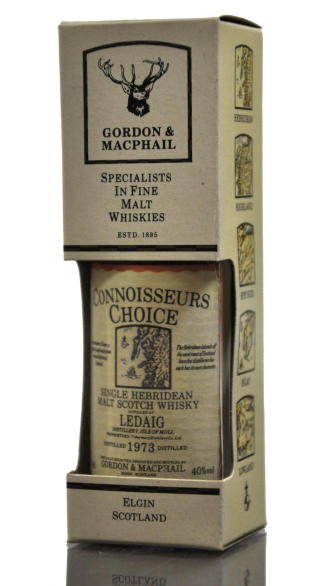 Ledaig 1973 Connoisseurs Choice Single Malt Scotch Whisky Miniature - 5cl 40%
