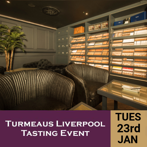 Turmeaus Liverpool Whisky & Cigar Tasting Event - 23/1/18