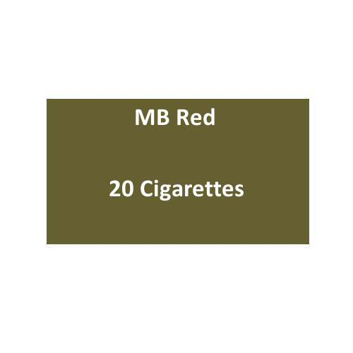 MB Red Cigarettes - 1 pack of 20 cigarettes (20)