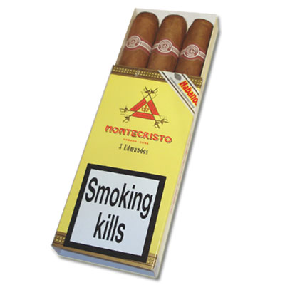 Montecristo Edmundo Cigar - Pack of 3