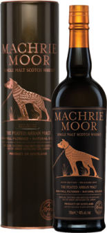 Arran Machrie Moor 6th Edition Peated Single Malt Scotch Whisky - 70cl 46%