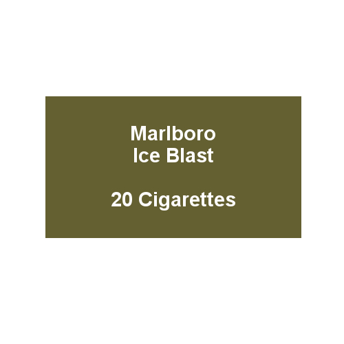 Marlboro Ice Blast - 1 pack of 20 Cigarettes (20)