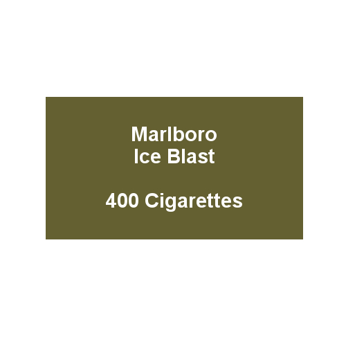 Marlboro Ice Blast Capsule - 20 pack of 20 Cigarettes (400)