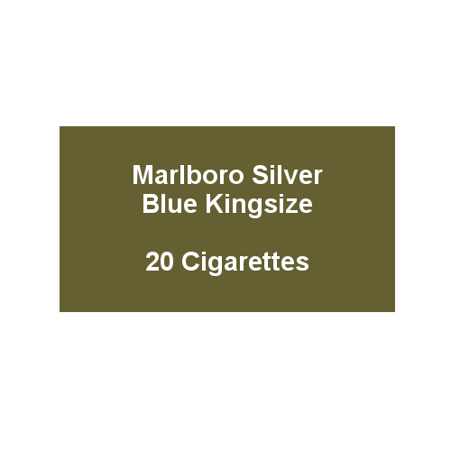 Marlboro Silver Blue Kingsize - 1 pack of 20 Cigarettes (20)