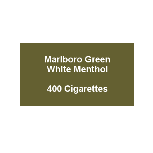 Marlboro Green - 20 pack of 20 Cigarettes (400)