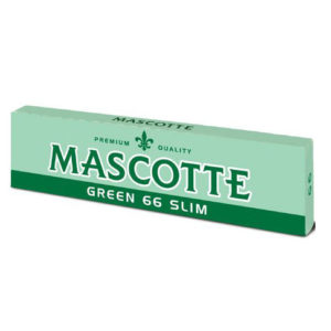 Mascotte Green 66 Slim Rolling Papers 1 pack